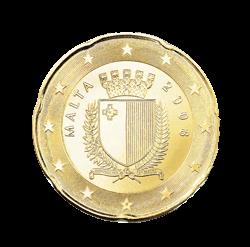 20 Cent Kursmünze Malta 2008 Euro Münzen Banknoten Geldscheine