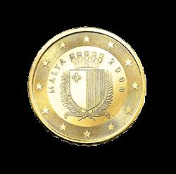 10 Cent Kursmünze Malta 2008 Euro Münzen Banknoten Geldscheine