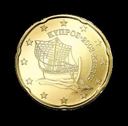 20 Cent Kursmünze Zypern 2008 Euro Münzen Banknoten Geldscheine