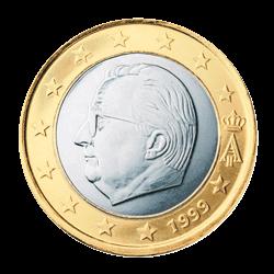Belgien 1 Euro Kursmünze 1999 Euro Münzen Banknoten Geldscheine