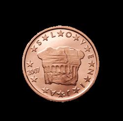 Slowenien 2 Cent Kursmünze 2007 Euro Münzen Banknoten
