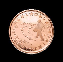 Slowenien 5 Cent Kursmünze 2007 Euro Münzen Banknoten
