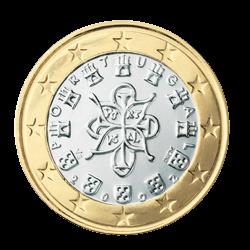 Portugal 1 Euro Kursmünze 2006 Euro Münzen Banknoten Geldscheine