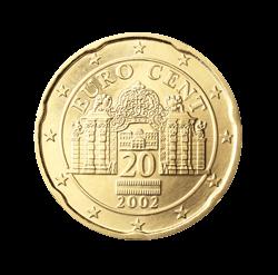 österreich 20 Cent Kursmünze 2004 Euro Münzen Banknoten