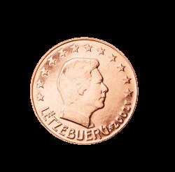 Luxemburg 2 Cent Kursmünze 2002 Euro Münzen Banknoten