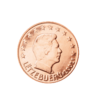 Luxemburg 2 Cent Kursmünze 2002