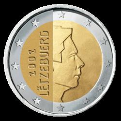 Luxemburg 2 Euro Kursmünze 2002 Euro Münzen Banknoten