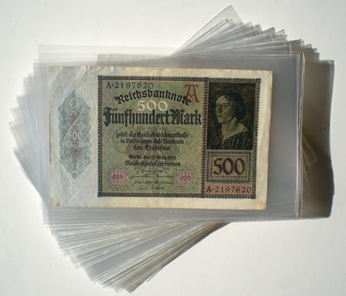 Schutzhüllen Für Banknoten Und Geldscheine Versandfrei