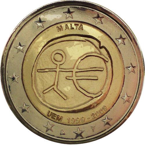 2 Euro Malta 2009 Wwu