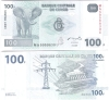 Kongo Dem. Republik 100 Francs P. 98