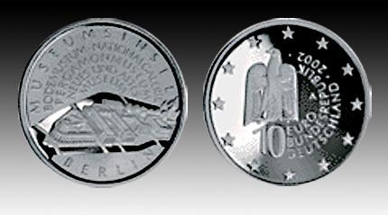 10 Euro Deutschland Museumsinsel Berlin 2002 Bfr Euro Münzen