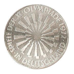 10 Dm Olympia München 1972 Spirale Deutschland Euro Münzen