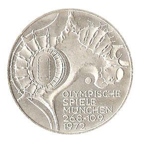 10 Dm Olympia München 1972 Stadion Und Zeltdach Euro Münzen