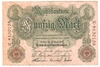 Reichsbanknote 50 Mark, 1910, Ro. 42, f