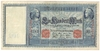 Reichsbanknote 100 Mark, 1910, Ro. 43a, vf