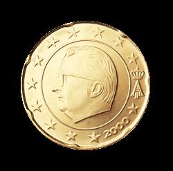 Belgien 20 Cent Kursmünze 2008 Euro Münzen Banknoten Geldscheine