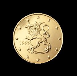 Finnland 10 Cent Kursmünze 1999 Euro Münzen Banknoten