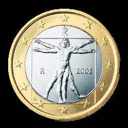 Italien 1 Euro Kursmünze 2008 Euro Münzen Banknoten Geldscheine