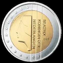 Niederlande 2 Euro Kursmünze 2001 Euro Münzen Banknoten