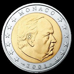 Monaco 2 Euro Kursmünze 2002 Euro Münzen Banknoten Geldscheine