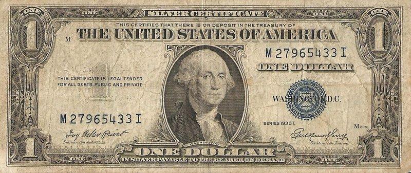 Geldscheine Usa
