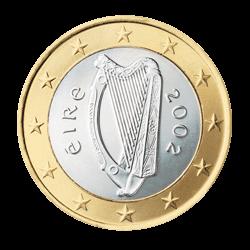 Irland 1 Euro Kursmünze 2009 Euro Münzen Banknoten Geldscheine