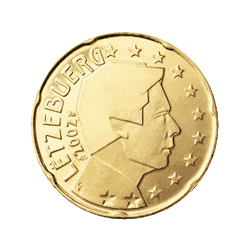 Luxemburg 20 Cent Kursmünze 2012 Euro Münzen Banknoten