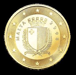 50 Cent Kursmünze Malta 2013 Euro Münzen Banknoten Geldscheine