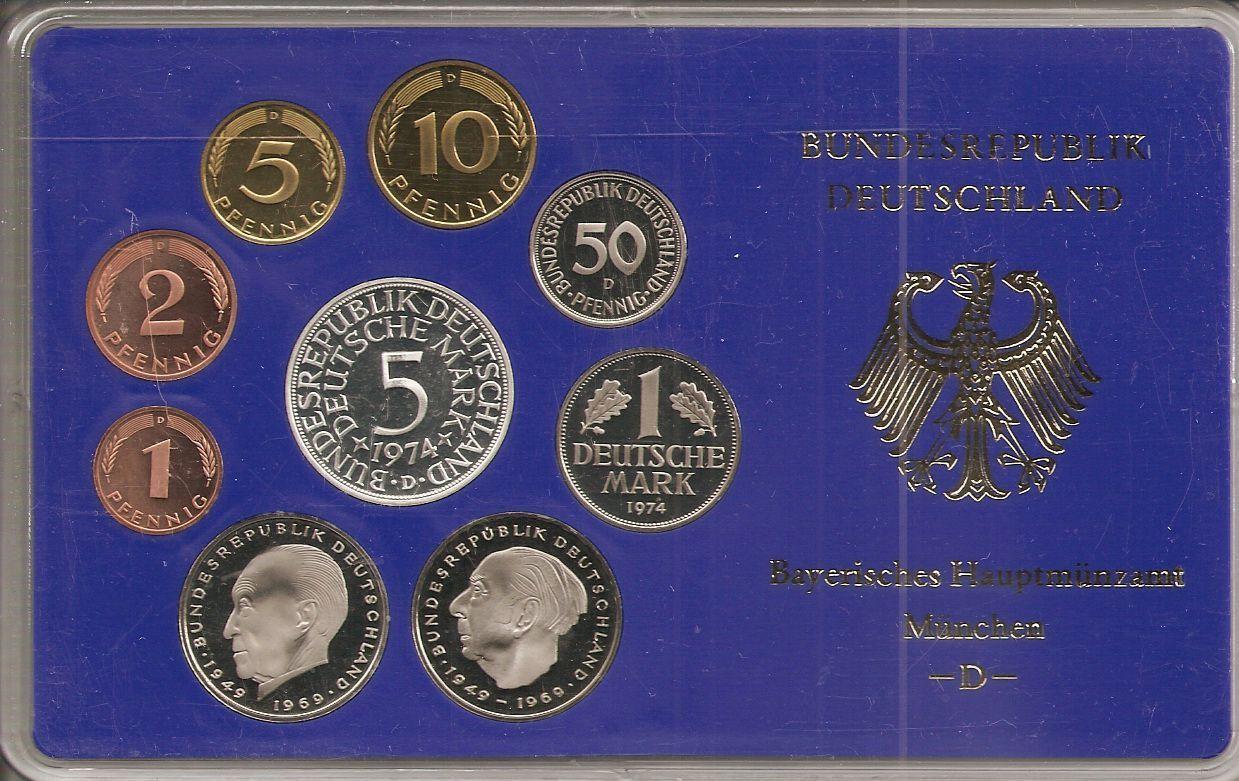 deutsche dm kursmünzensätze