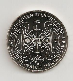10 Euro Münze Deutschland Heinrich Hertz 2013 Notaphila