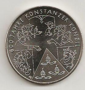 10 Euro Münze Deutschland 600 Jahre Konstanzer Konzil 2014 Notaphila