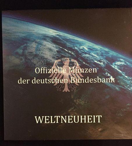 5 Euro Deutschland 2016 Blauer Planet Münzenset Coloriert