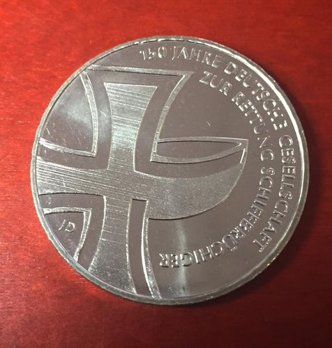 10 Euro Münze Deutschland 2015 150 Jahre Deutsche Gesellschaft Zur