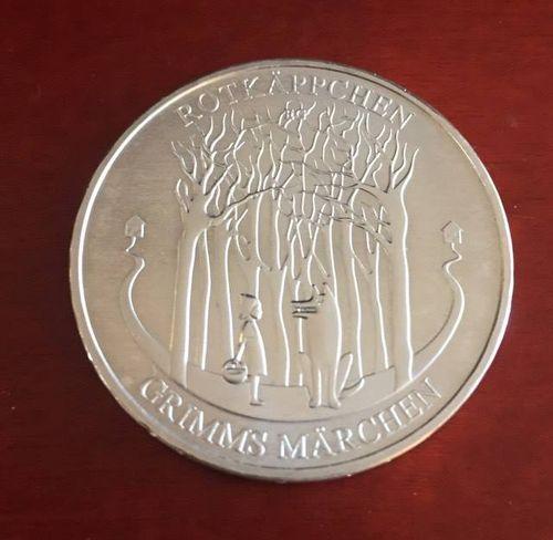 20 Euro Münze Deutschland Grimms Märchen Rotkäppchen 2016 Notaphila