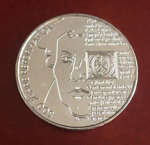20 Euro Münze Deutschland 500 Jahre Reformation 2017 Notaphila