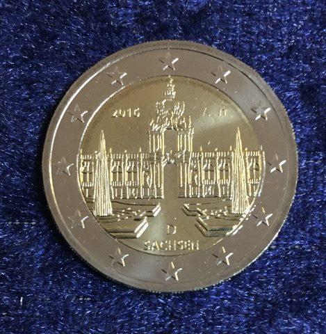 2 Euro Deutschland Rheinland Pfalz 2017 A Euro Münzen Banknoten