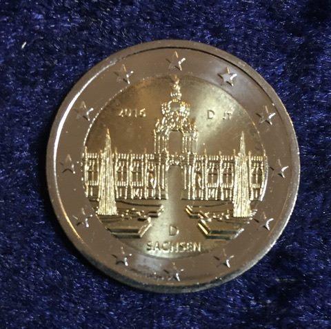 2 Euro Deutschland Rheinland Pfalz 2017 D Euro Münzen Banknoten